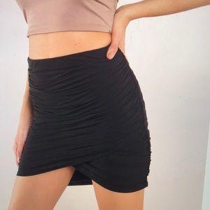 Caitlin Mini Wrap Skirt